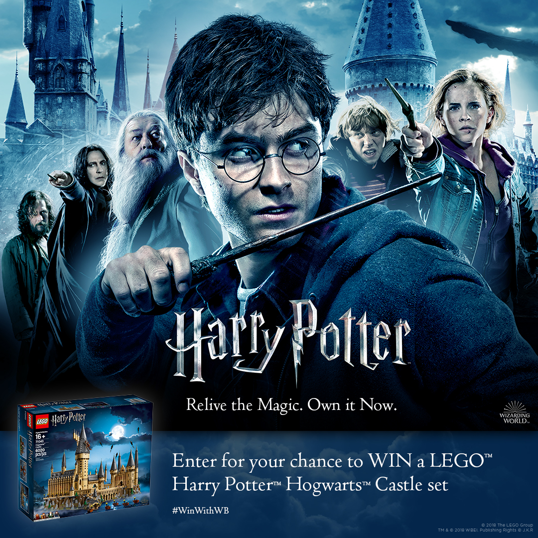 Harry Potter: Relive the magic. Own it now.