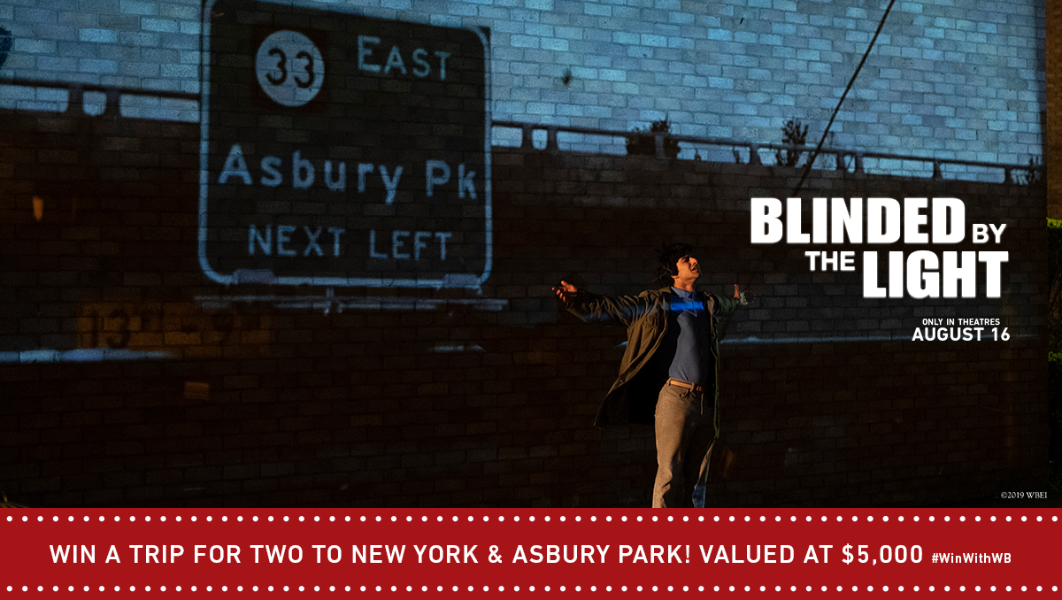 Win a trip for two to New York & Asbury park! Valued at $5000