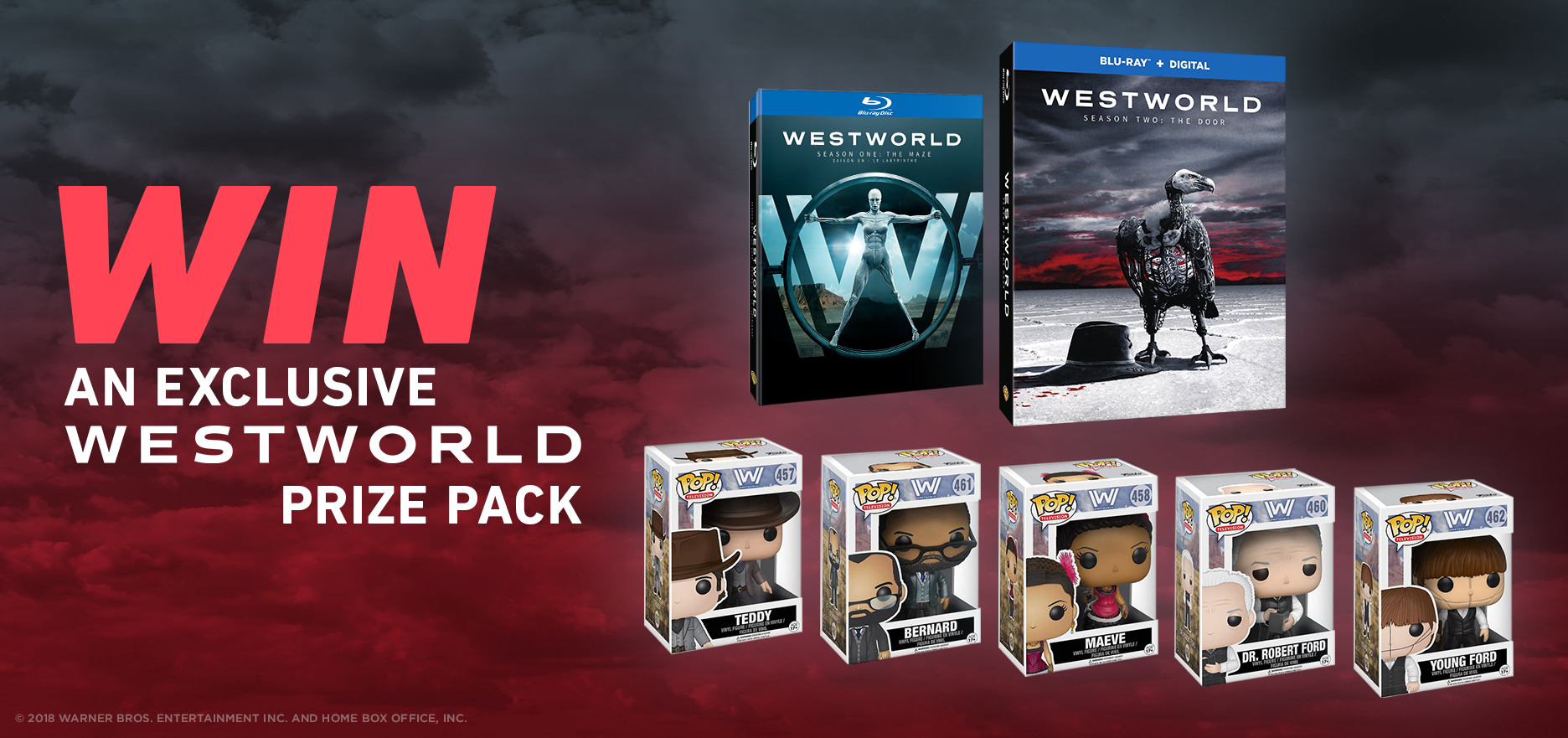 Win an exclusive Westworld prize pack